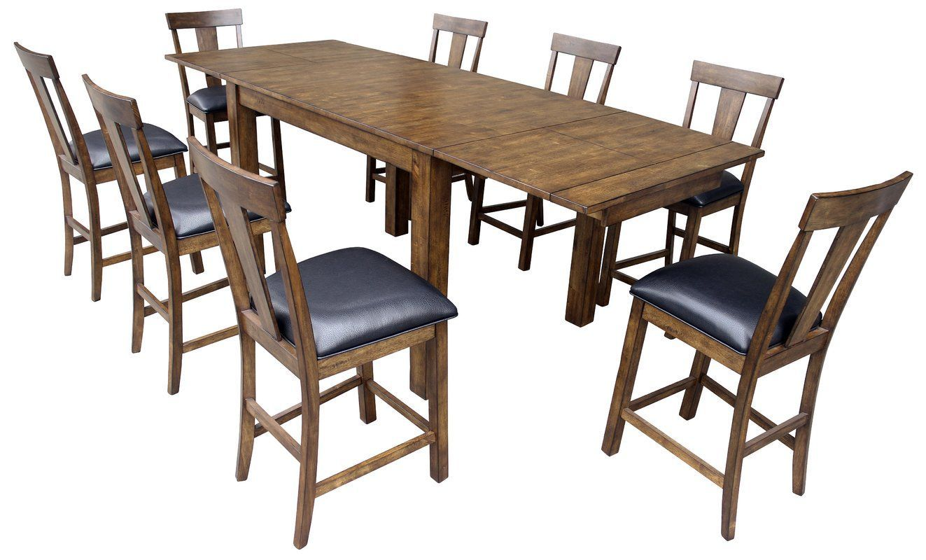 Alder Counter Height Extendable Dining Table | counter height table ...
