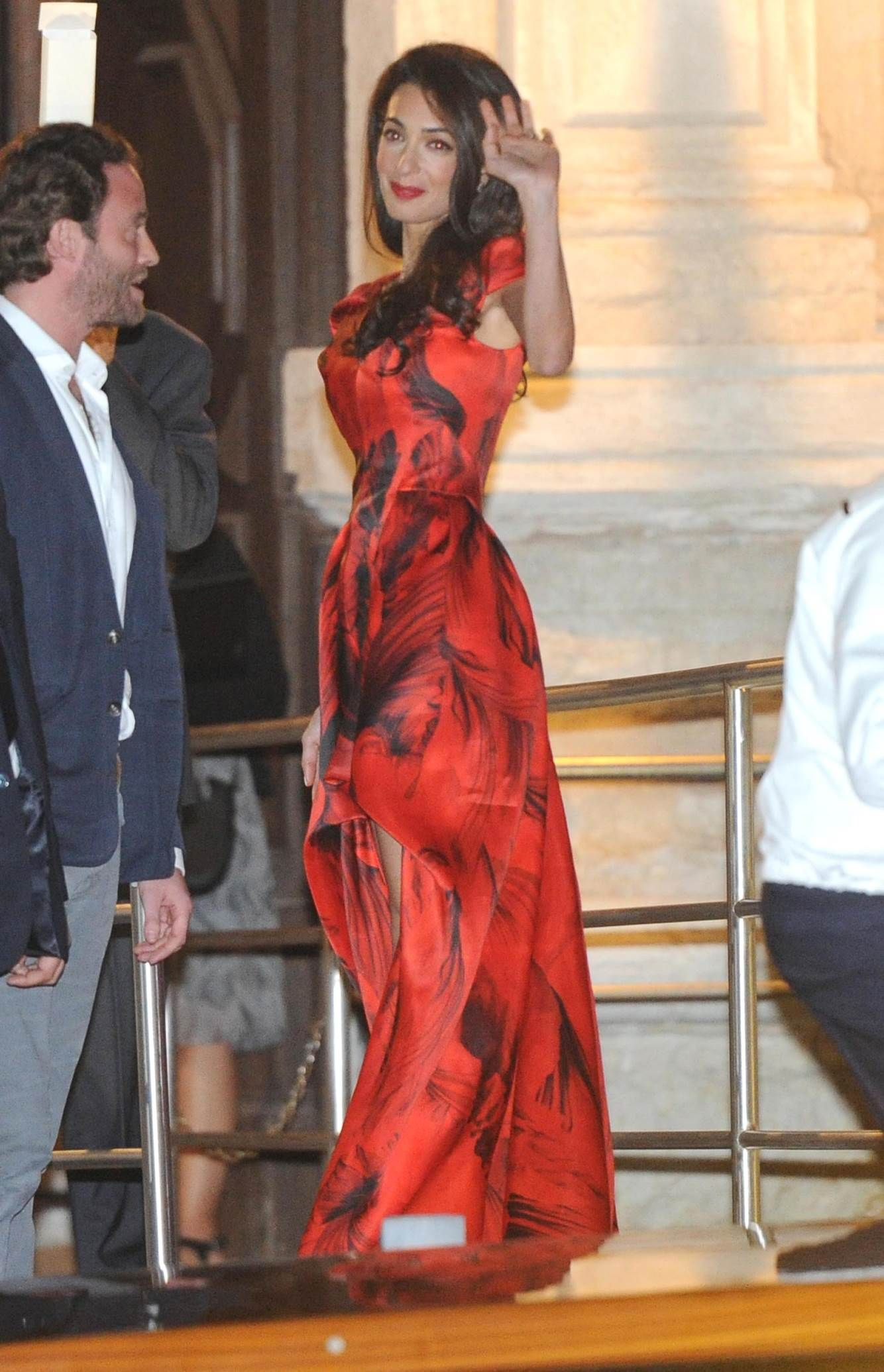 George clooneyus wife amal alamuddinus sophisticated style fashion