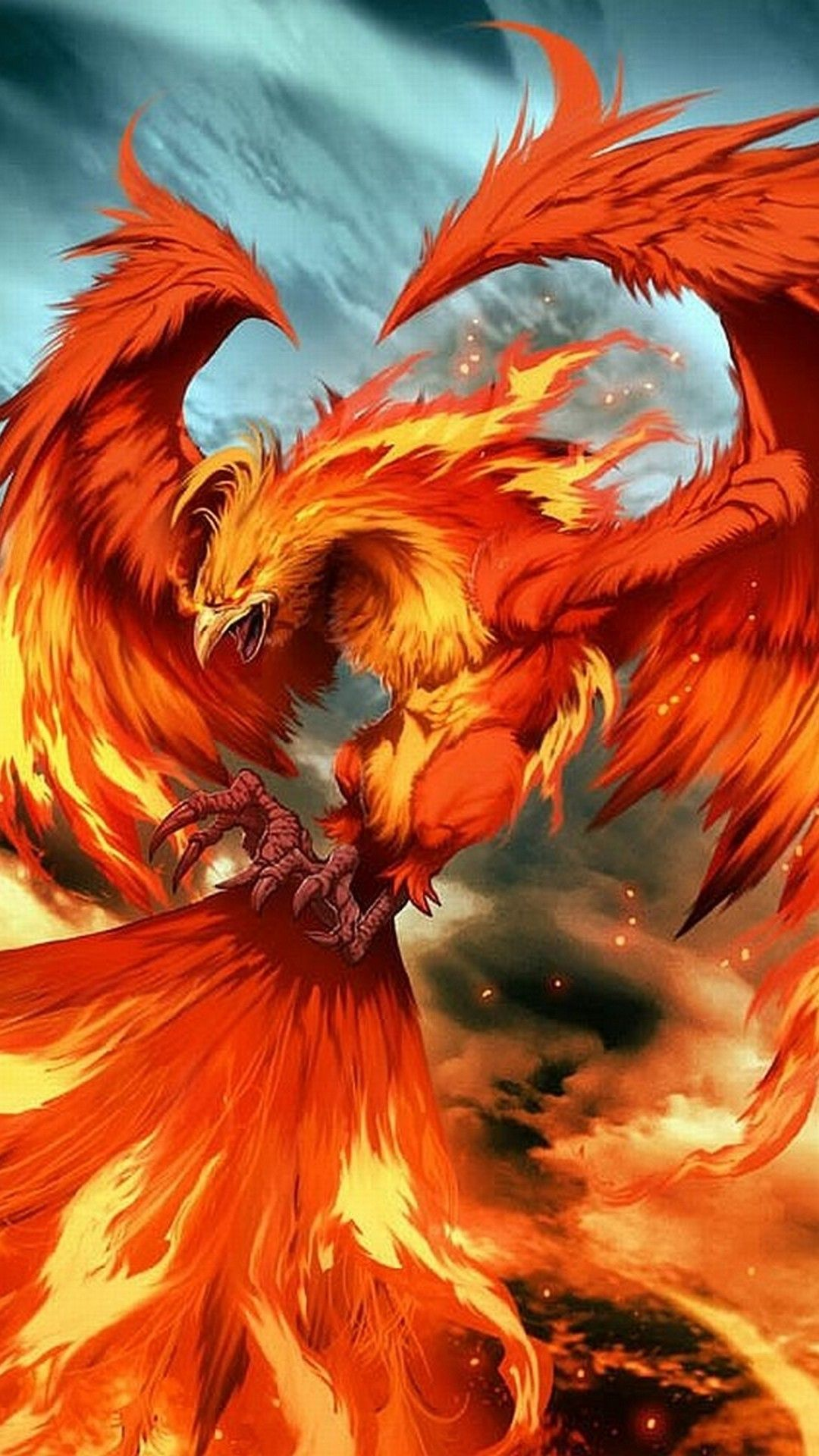 Phoenix images wallpaper for android best mobile wallpaper iphonewallpapers phoenix - Fenix bird hd images ...