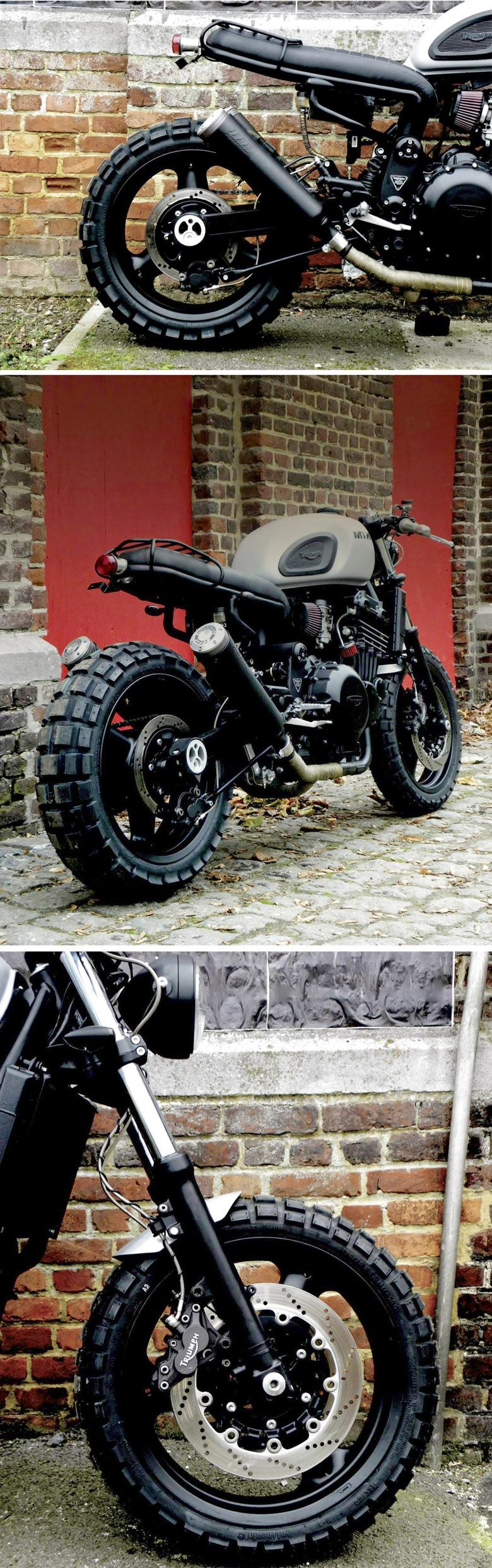 Classified moto kt600 the garage cafe - Mk20 Triumph By Motokouture Bespoke Motorcycles Http Rocket Garage
