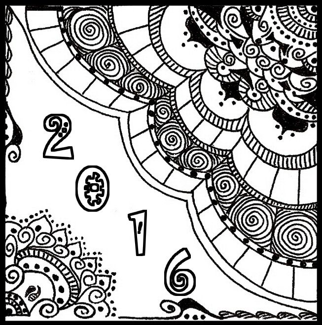 after sharing happy new year coloring pages for adults today i will share another holidays coloring pages with 2016 new year adults coloring sheet
