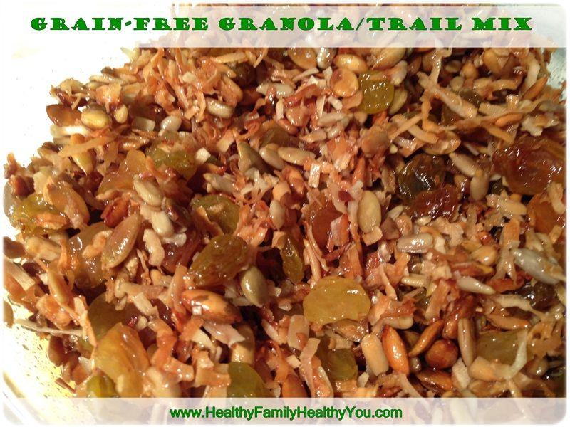 Grain-Free Vegan Gluten-Free Granola Bars and Chocolate Chip Cookies