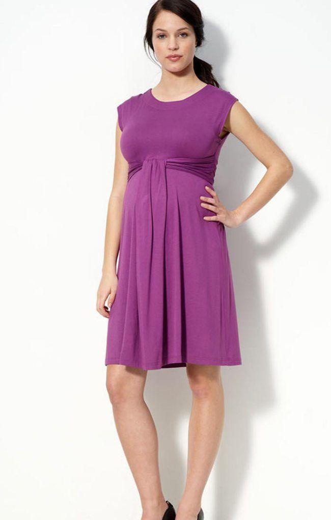 Casual Maternity Knit Dress | Fashion Trends | Pinterest