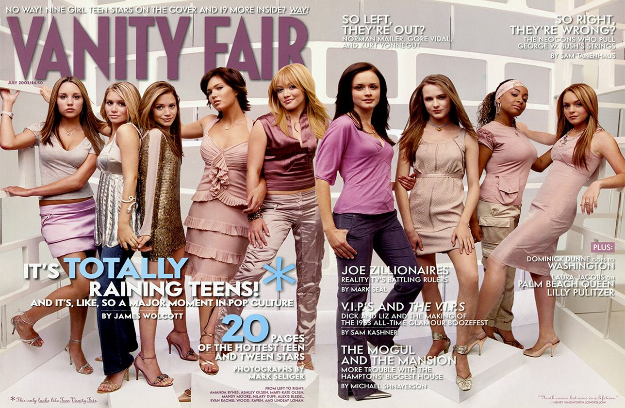 In 2003 We Called These Actors The Next Wave Of Hollywood Were We Right 2000s Fashion Trends Early 2000s Fashion Vanity Fair Covers