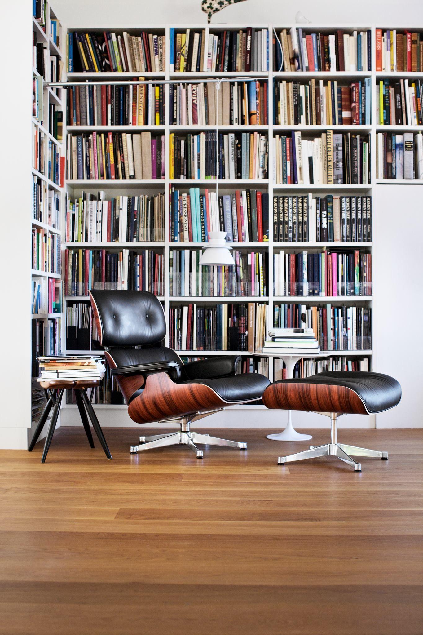 Library, lounge, Artek-Vitra home | Artek-Vitra home in 2019 ...