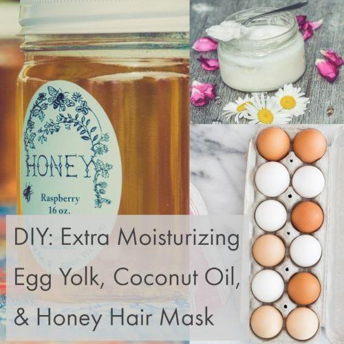 Photo of DIY Recipe: Extra Moisturizing Egg Yolk, Coconut Oil, and Honey Hair Mask — lovetree essentials