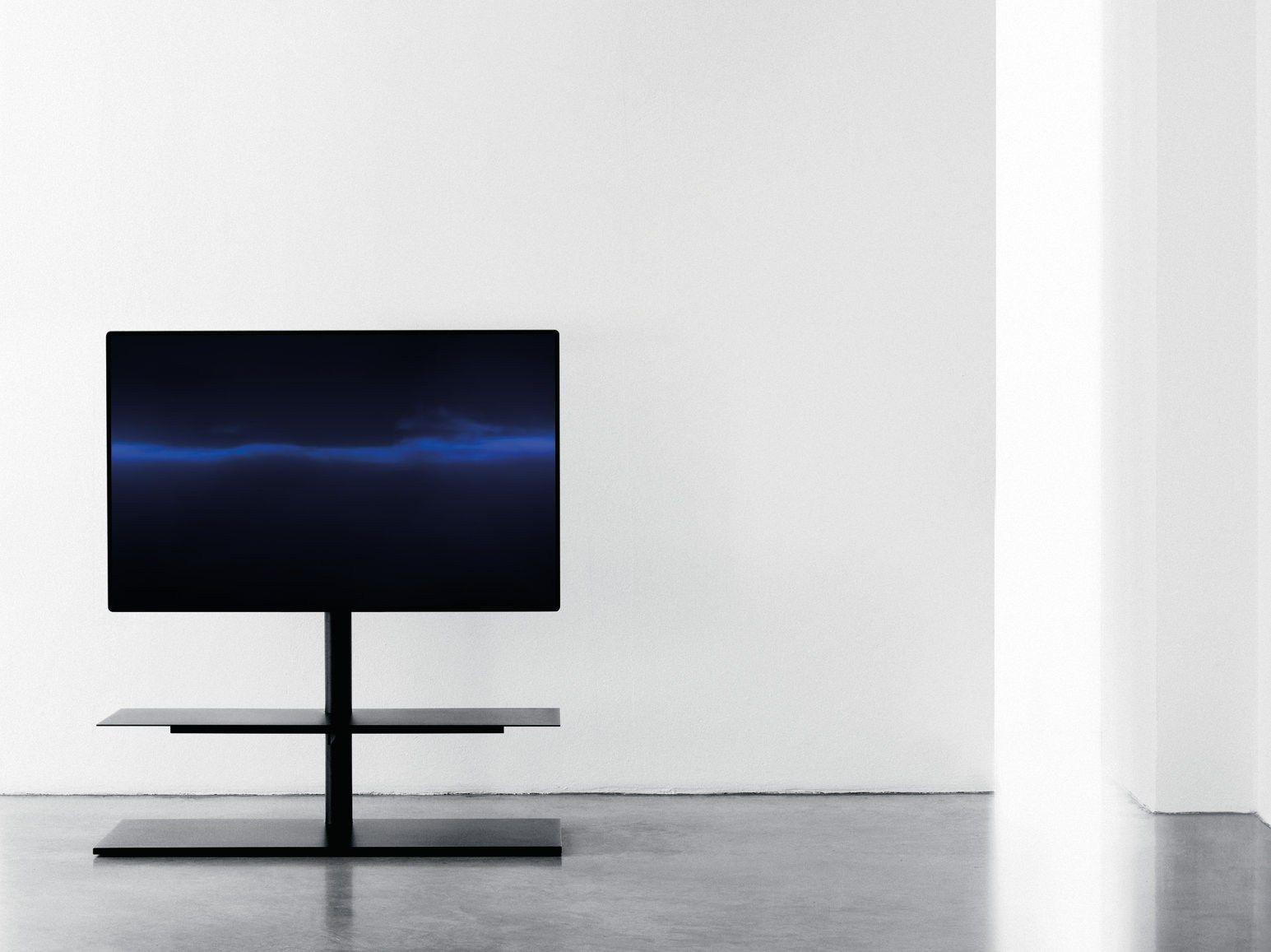 Mueble TV giratorio de metal SAIL 301 by Desalto diseño CARONNI ...