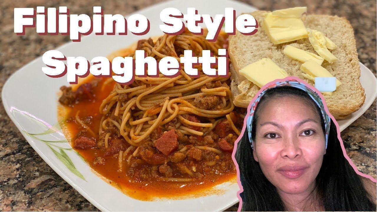 How to make filipino spaghetti youtube in 2020