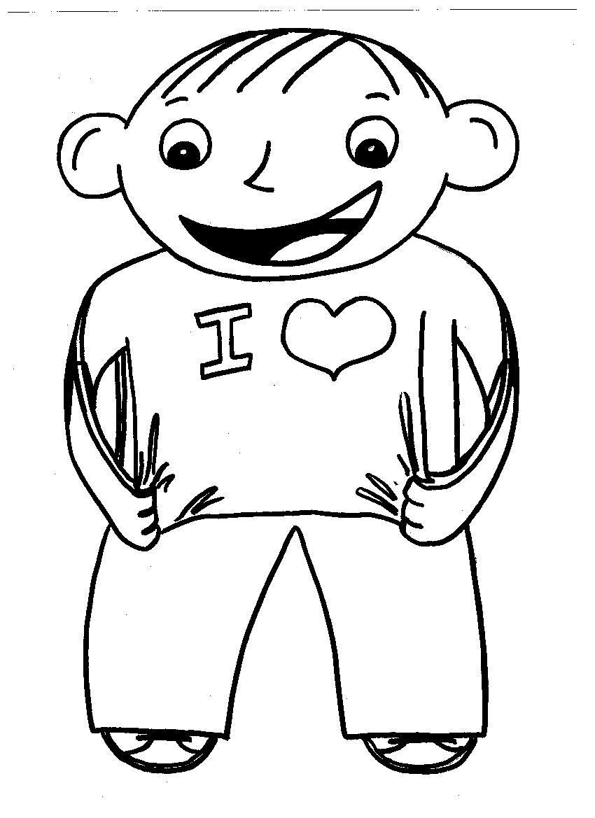 Flat Stanley Coloring Page | Printable Coloring Pages | School Ideas ...