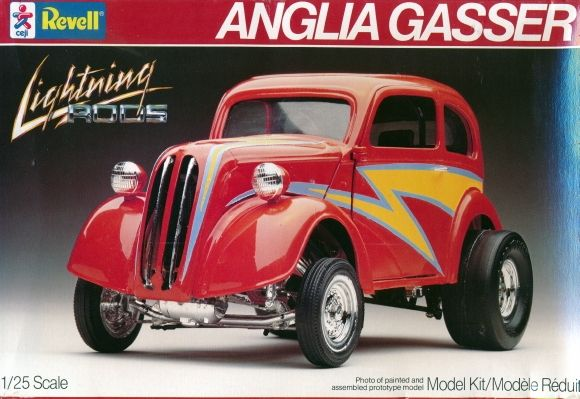 Revell Anglia Gasser Box Art Plastic Model Kits Revell Model