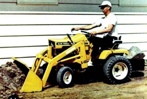 Allis Chalmers L 12 Loader Allicechalmers Garden Tractor
