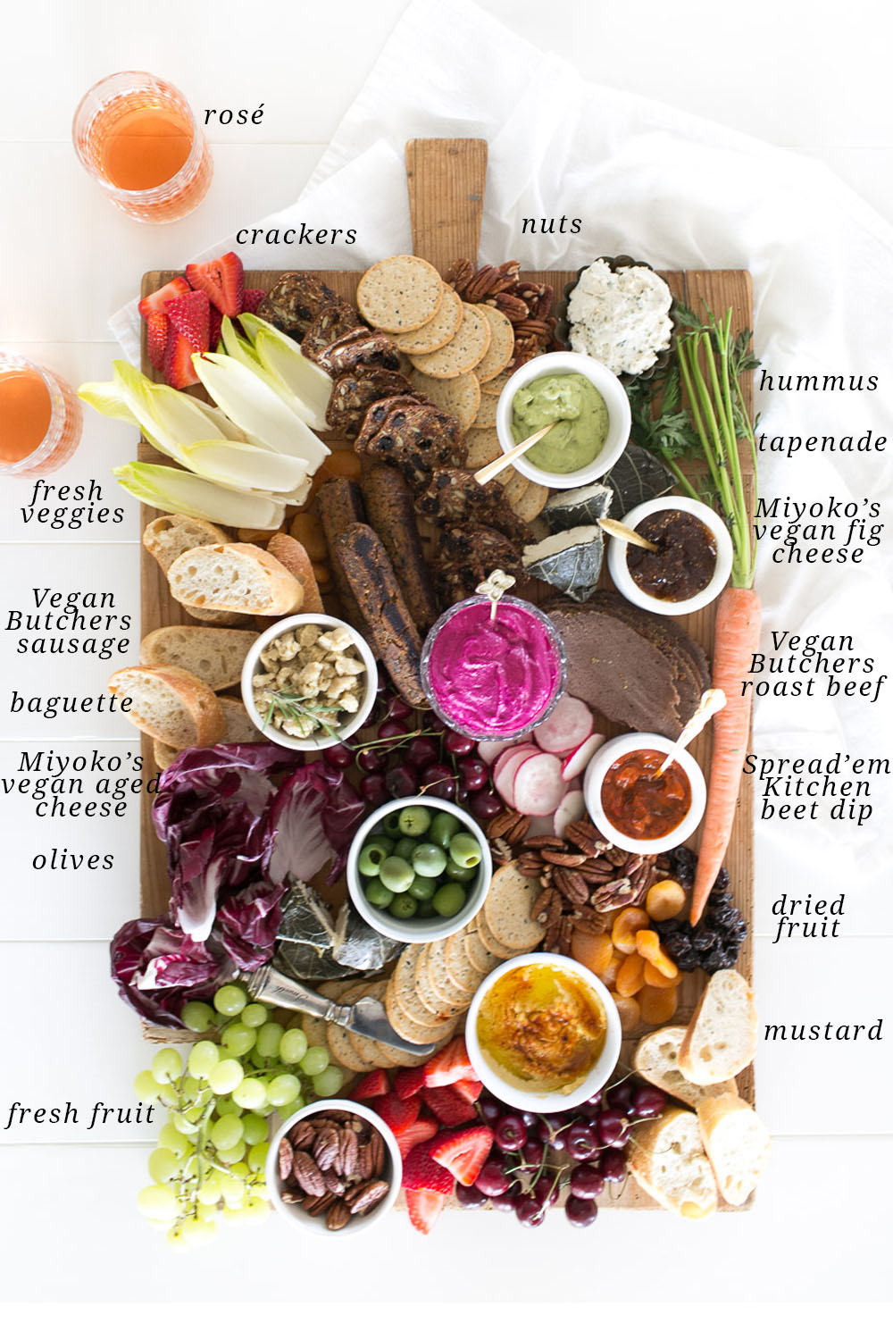 Vegan Charcuterie Board - Jillian Harris