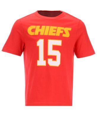 ec119a0d059 Outerstuff Pat Mahomes Kansas City Chiefs Mainliner Player T-Shirt, Little  Boys (4-7) - Red 5/6