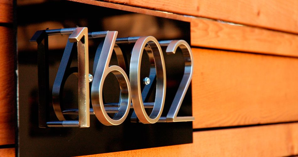 Great Source For Mid Century Modern Address Numbers