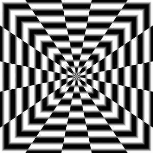 optical illusion art | optical illusion Art Warp Tunnel Poster | Shop entertainment ...