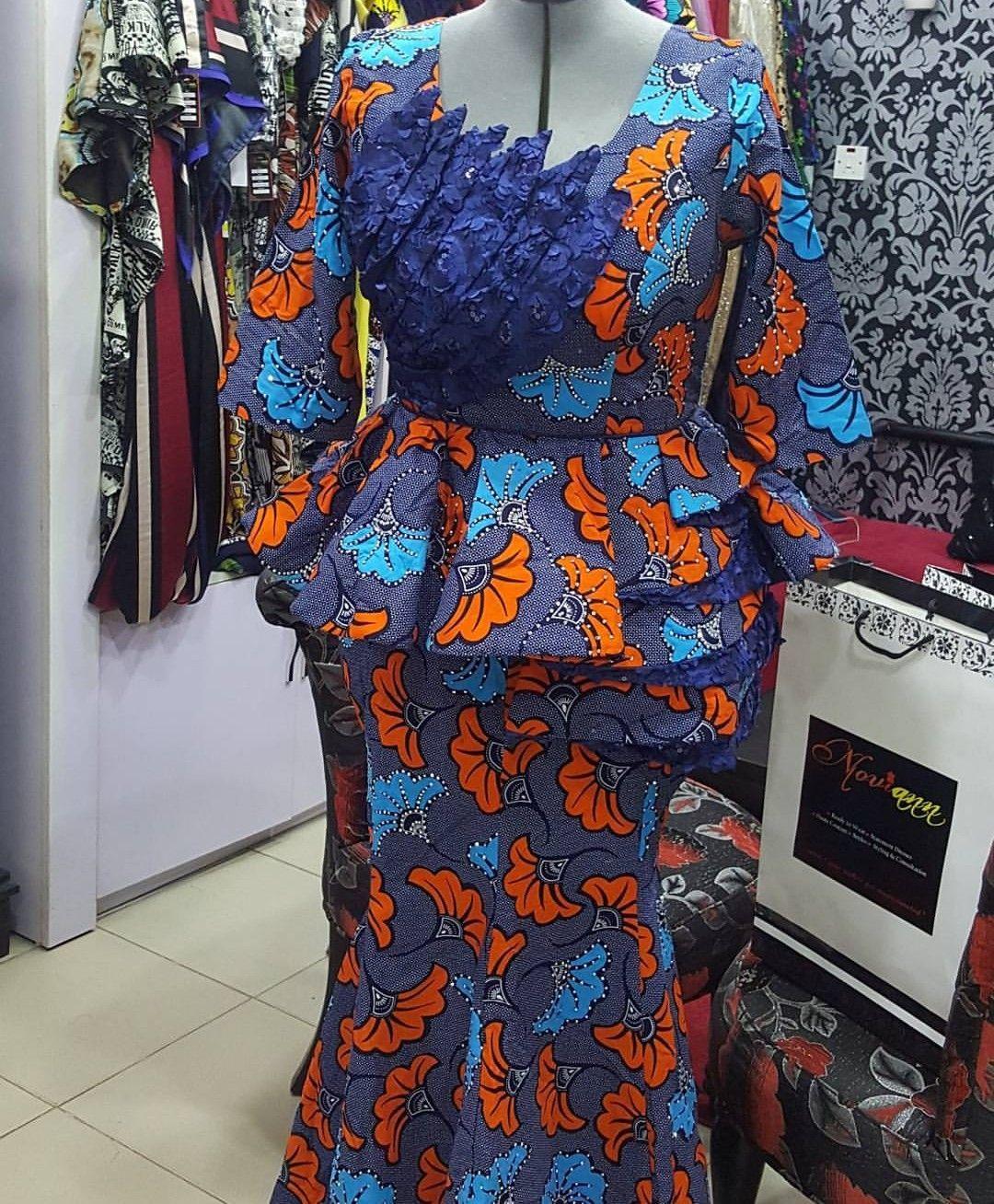 4156e7799520de Hot Ankara Skirt & Blouse Styles For Your Next Owamba | Fashion ...