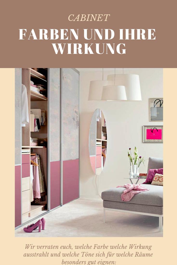 Farben Und Ihre Wirkung Einbauschrank Wandfarbe Schlafzimmer Beruhigend Und Schrank