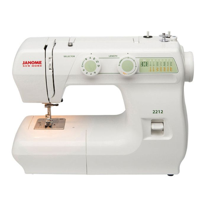 Janome 2212 Mechanical Sewing Machine Pinterest Janome And Crafts