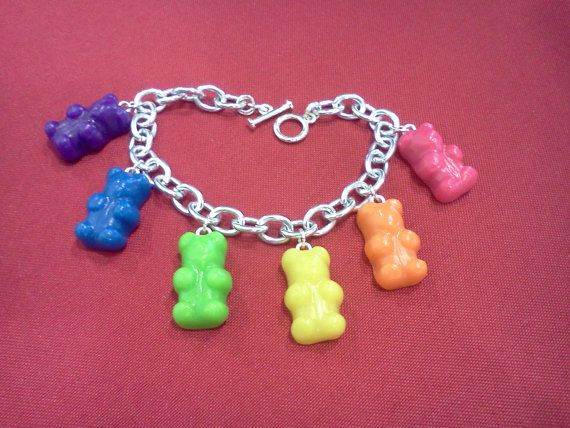 Hey, I found this really awesome Etsy listing at http://www.etsy.com/listing/102477565/rainbow-gummy-bear-bracelet