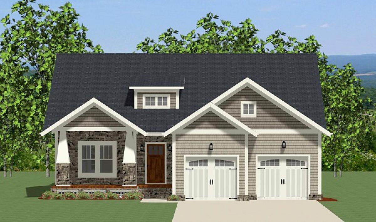 Plan 46286la Handsome One Story Craftsman House Plan