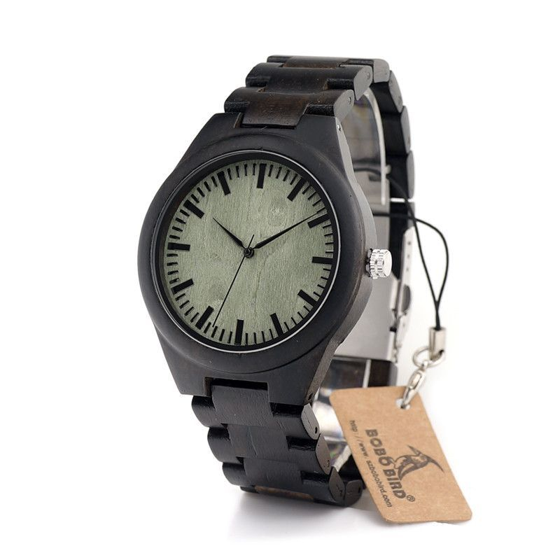 Mens Natural Ebon... - Great new product just listed on IsMENS website.  What do you think?  http://ismens.com/products/mens-natural-ebony-wood-quratz-watch-green?utm_campaign=social_autopilot&utm_source=pin&utm_medium=pin