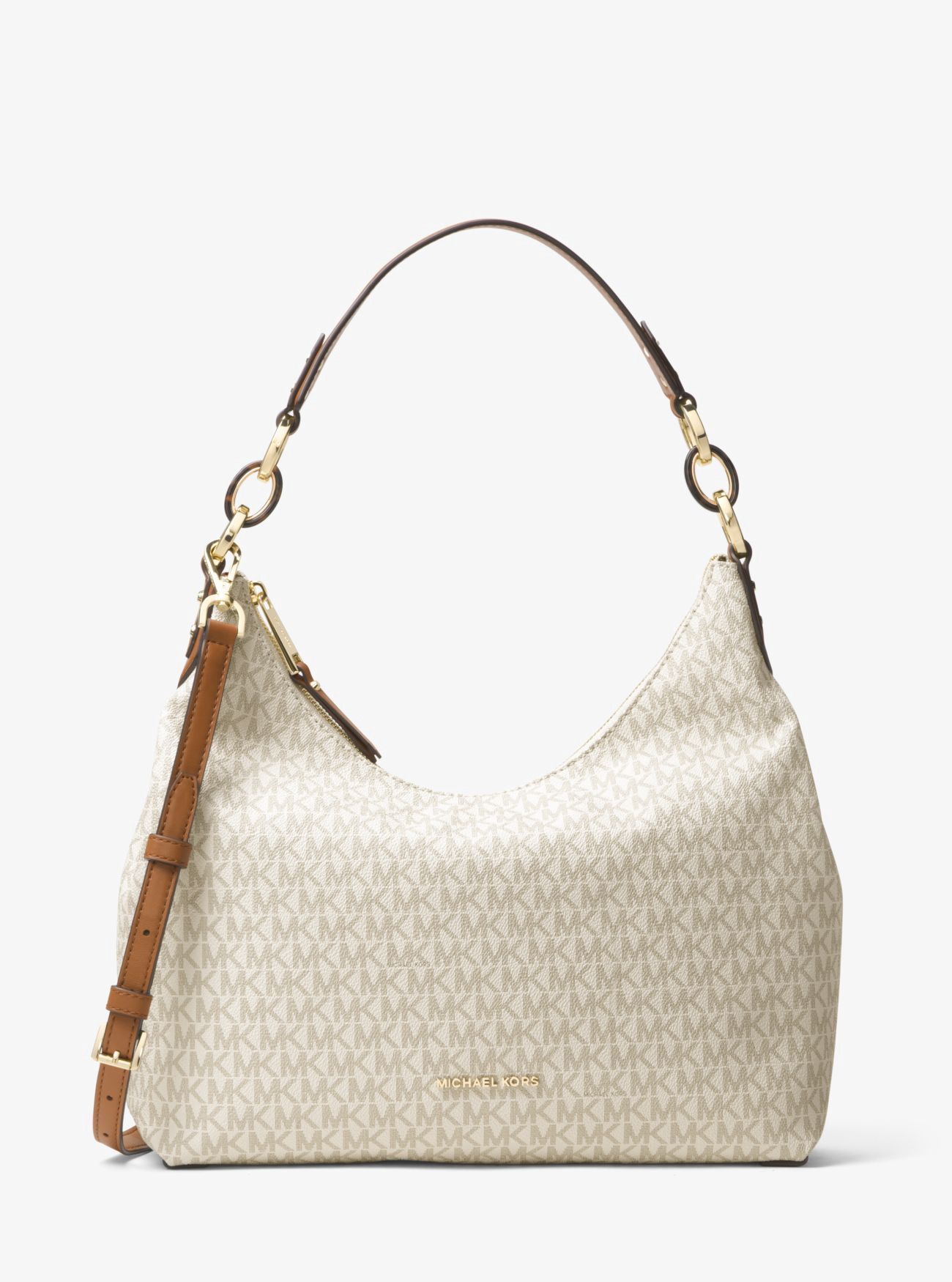 03df1b6c911e MICHAEL KORS Isabella Large Logo Shoulder Bag.  michaelkors  bags  shoulder  bags  hand bags  polyester  lining