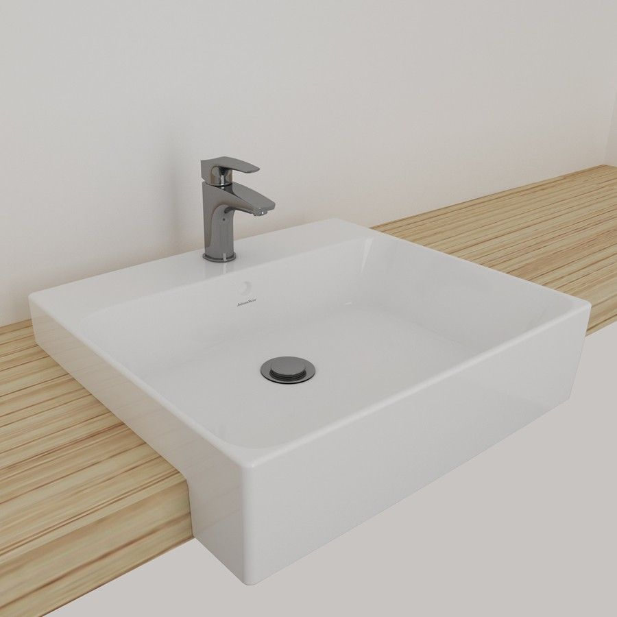 Inset wash basin vanity basin washbasins - Johnson Suisse Semi Recessed Basins Semi Recessed Basinbasinsbathroom Ideaswashbasin