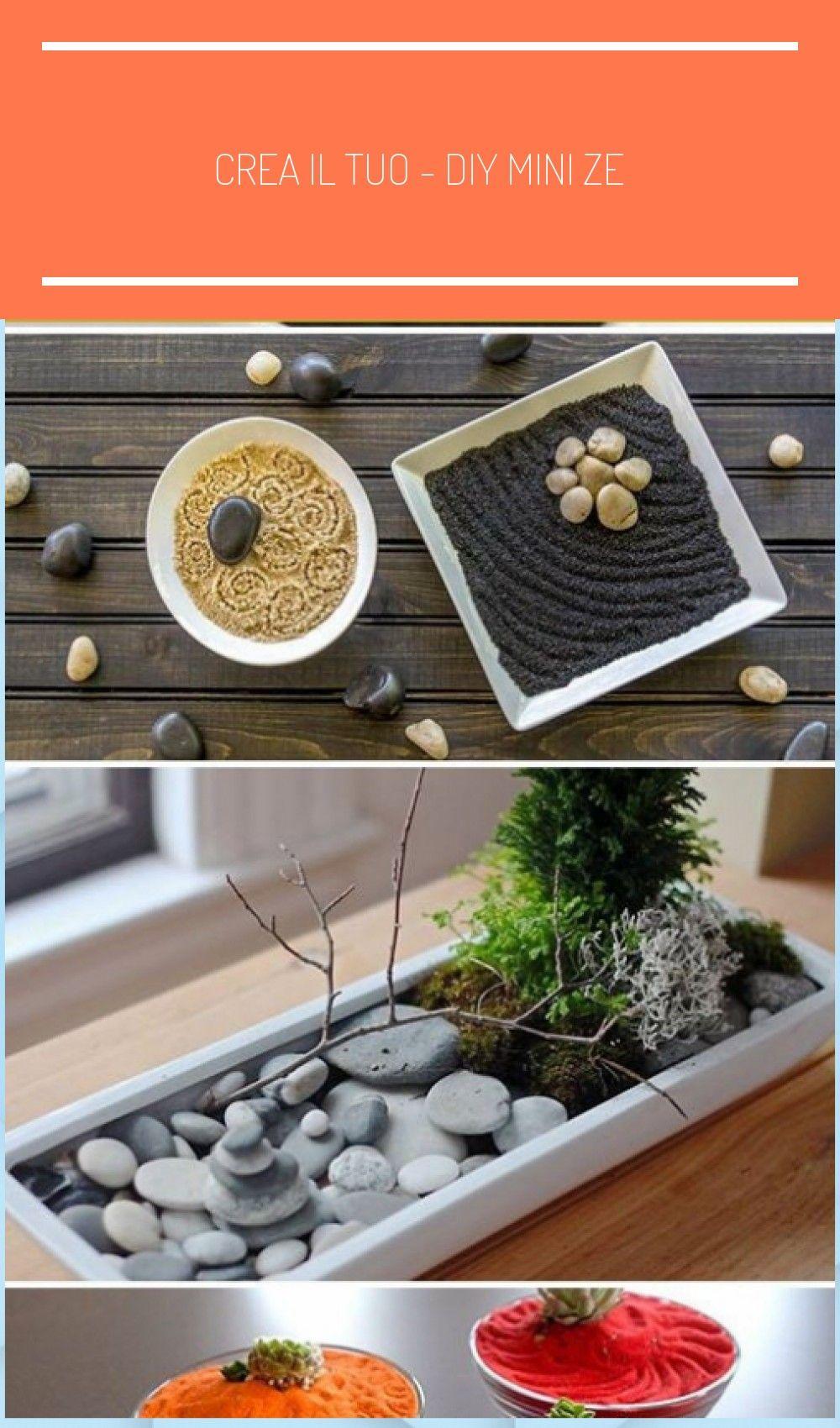 Photo of Crea il tuo – DIY Mini Zen Gardens #zen garden in m – DIY Garden #create …
