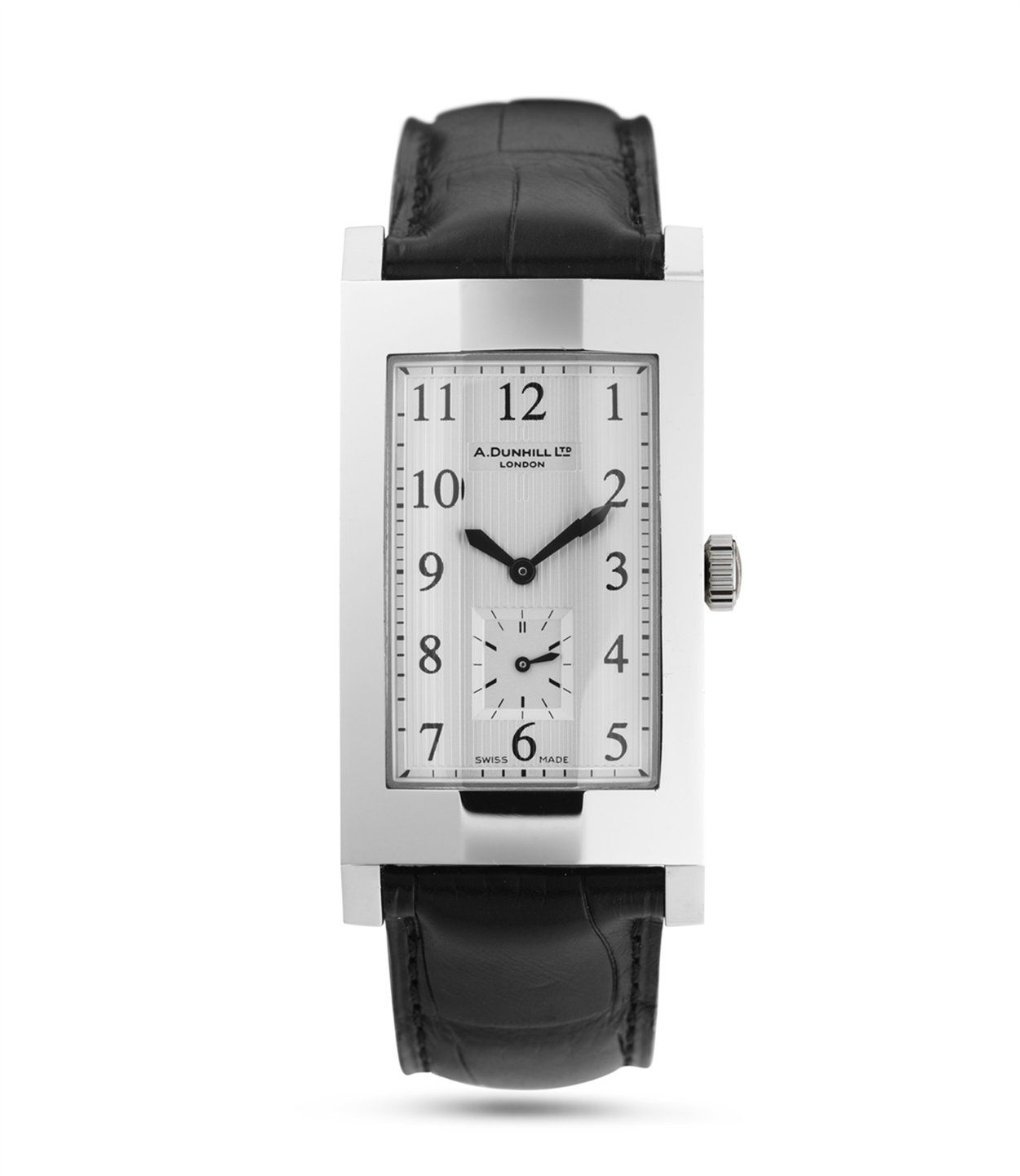 alfred dunhill facet stainless steel with
