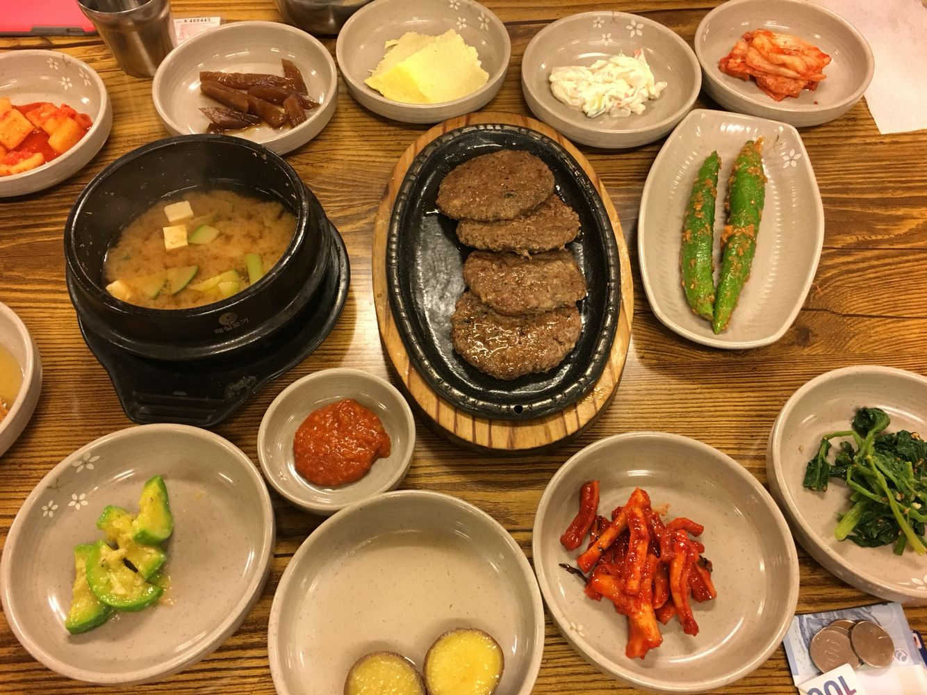 Korean Dinner For Our First Night In Gyeongju Dinner With Ground Beef Dinner Beef Recipes For Dinner
