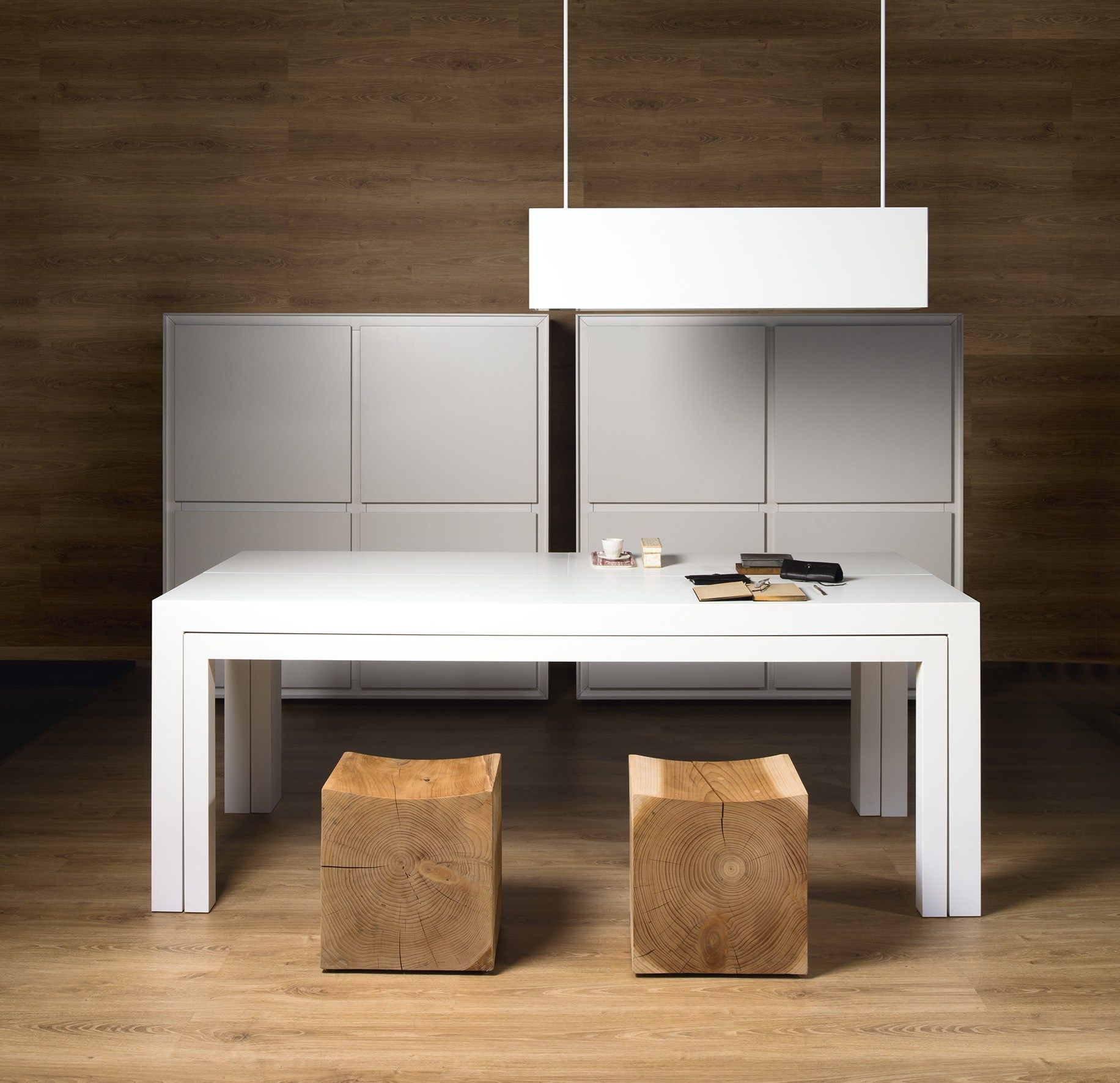 Minicucina in legno OFF KITCHEN by TM Italia Cucine design Daniele ...