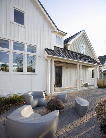 Renovation Detail Board And Batten Siding Board And Batten Exterior Exterior Siding Modern Farmhouse Exterior