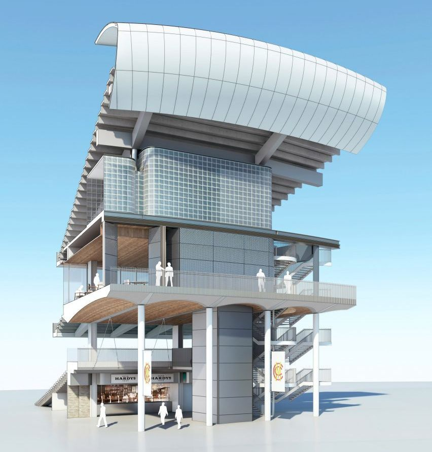 Wilkinson Eyre S Latest Designs For Lord S Cricket Ground Stands Revealed Http Feedproxy Google Com R Dezeennews 3 Design Architecture Design Latest Design