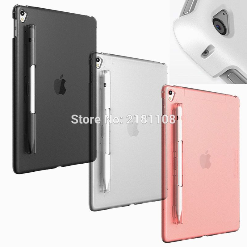 Ipad Pro 12.9 Case With Pencil Holder Pas Cher Coverbuddy Series Pencil Holder Back Cover Case For Ipad