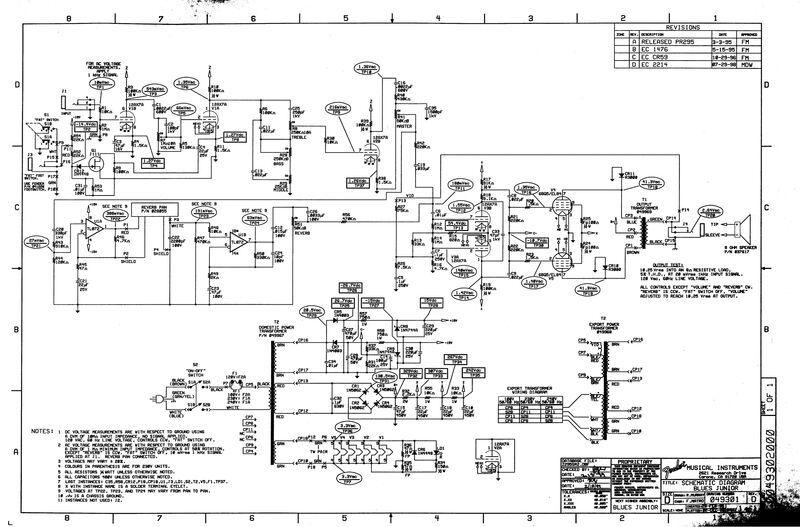ampeg svt wiring diagram
