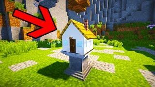 Smallest House In The World Minecraft smallest house in minecraft!! (1x1x1 command block house