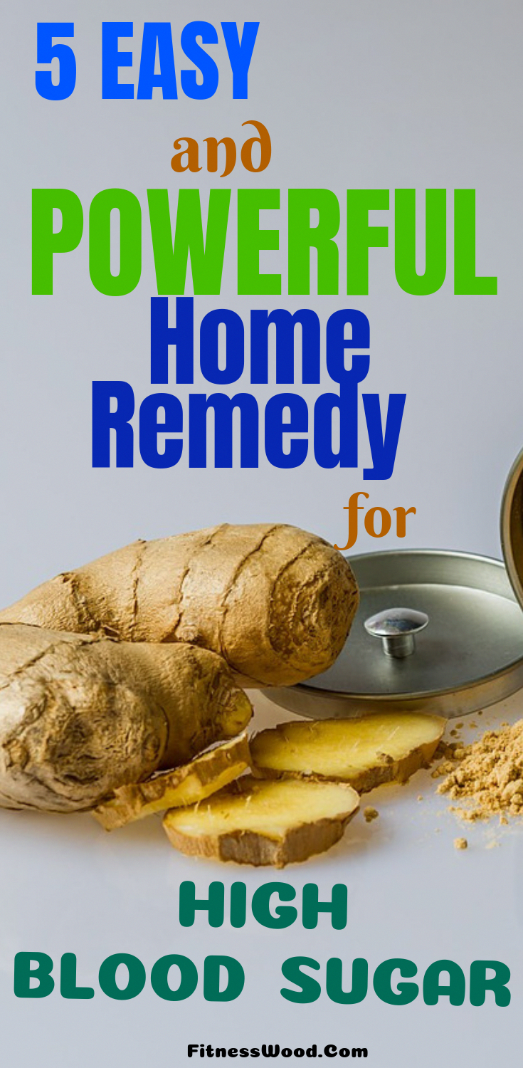 If you are a patient of diabetes then today I am going to tell you about 5 home remedy for high bloo...