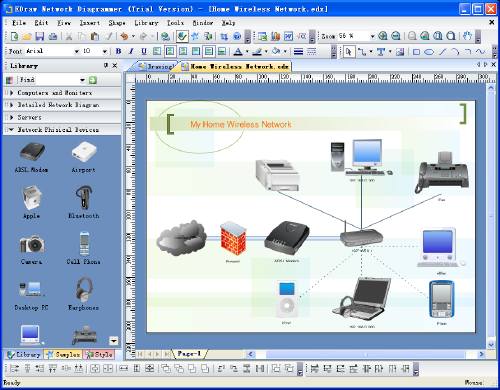 Edraw network diagram 78 screenshot graphic apps pinterest edraw network diagram perfect network diagram design software with abundant examples and templates sciox Image collections