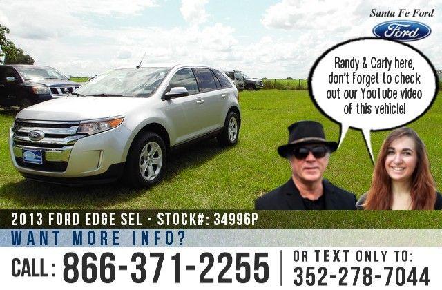 2013 Ford Edge Gainesville Fl Miles 35 675 Stock 34996p