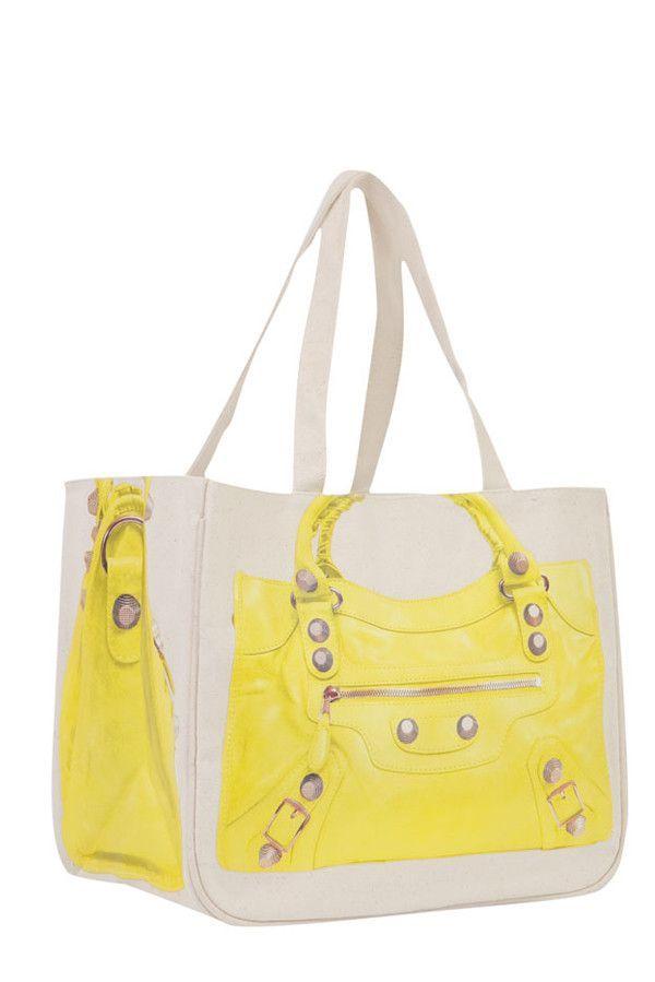 Moto Together Bag, Acid Yellow
