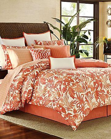 Tommy Bahama Palma Sola 4 Piece California King Comforter Set