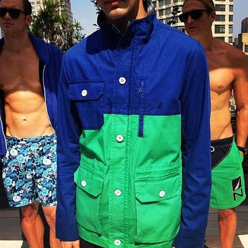 And here's how @Nautica Wager does color-blocking for spring. (via @GarrettMunce) (Taken with Instagram)