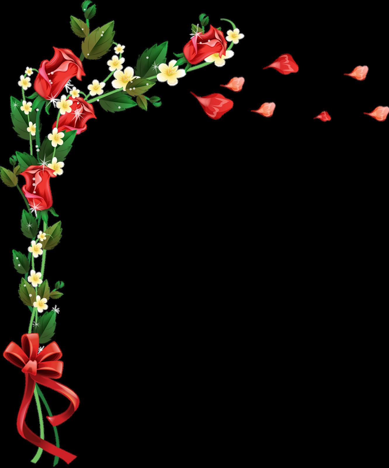 Imagenes de ramas y flores para decorar marcos para - Ramas decoradas ...