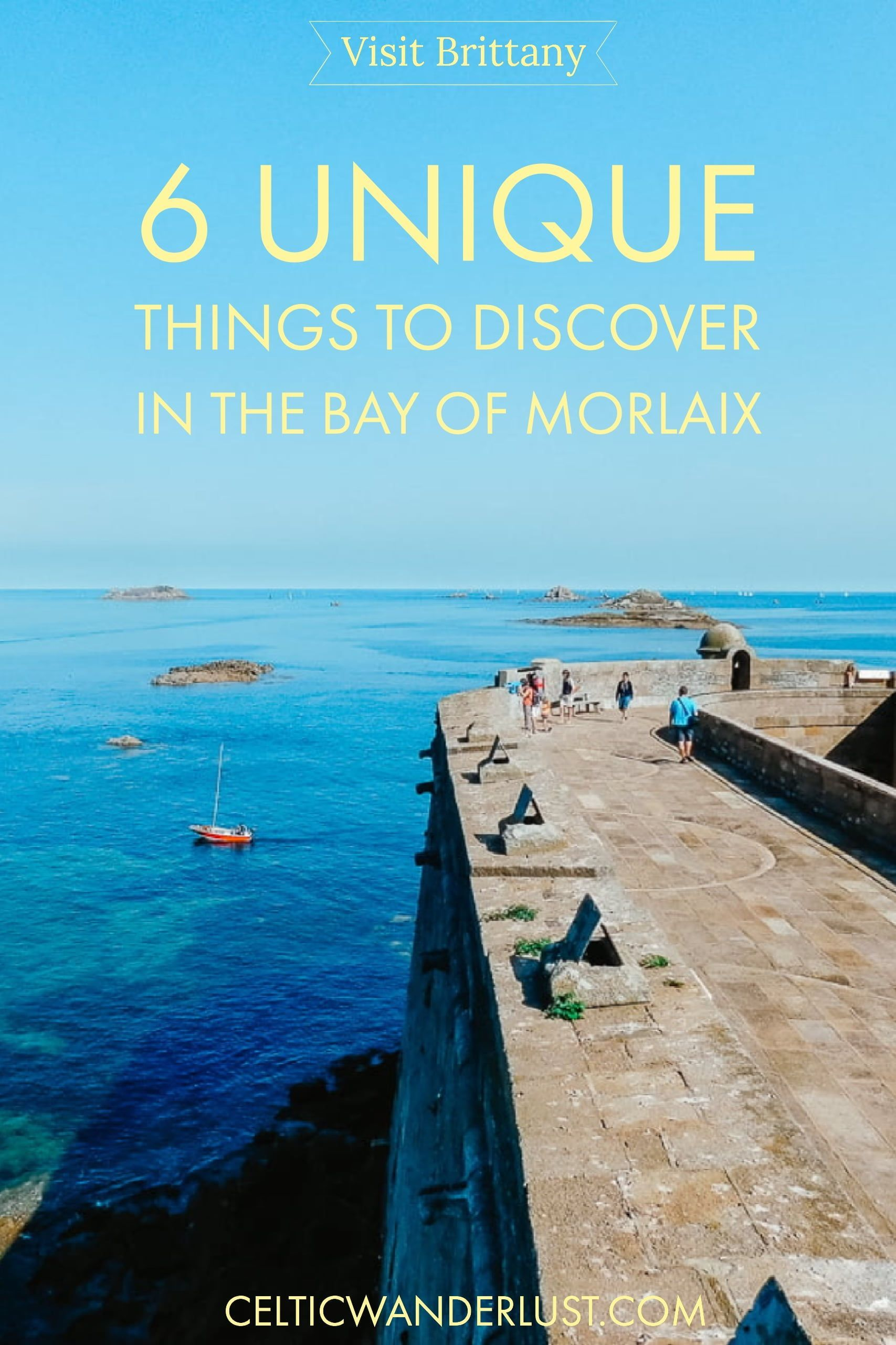 6 Unique Things To Discover In The Bay of Morlaix, France is part of Unique Things To Discover In The Bay Of Morlaix France - The Bay of Morlaix is one of the reasons why I like to visit Finistère's northern coast  From historical sites to architectural landmarks, from religious heritage to lush botanical gardens, the Bay of Morlaix doesn't fall short of things to see