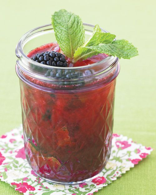 Blackberry Gin Fizz - Martha