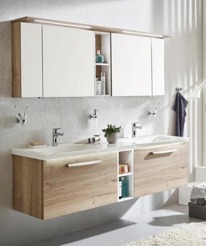 Badezimmer In 2020 Badezimmer Unterschrank Holz Badezimmer Einrichtung Badezimmer Unterschrank