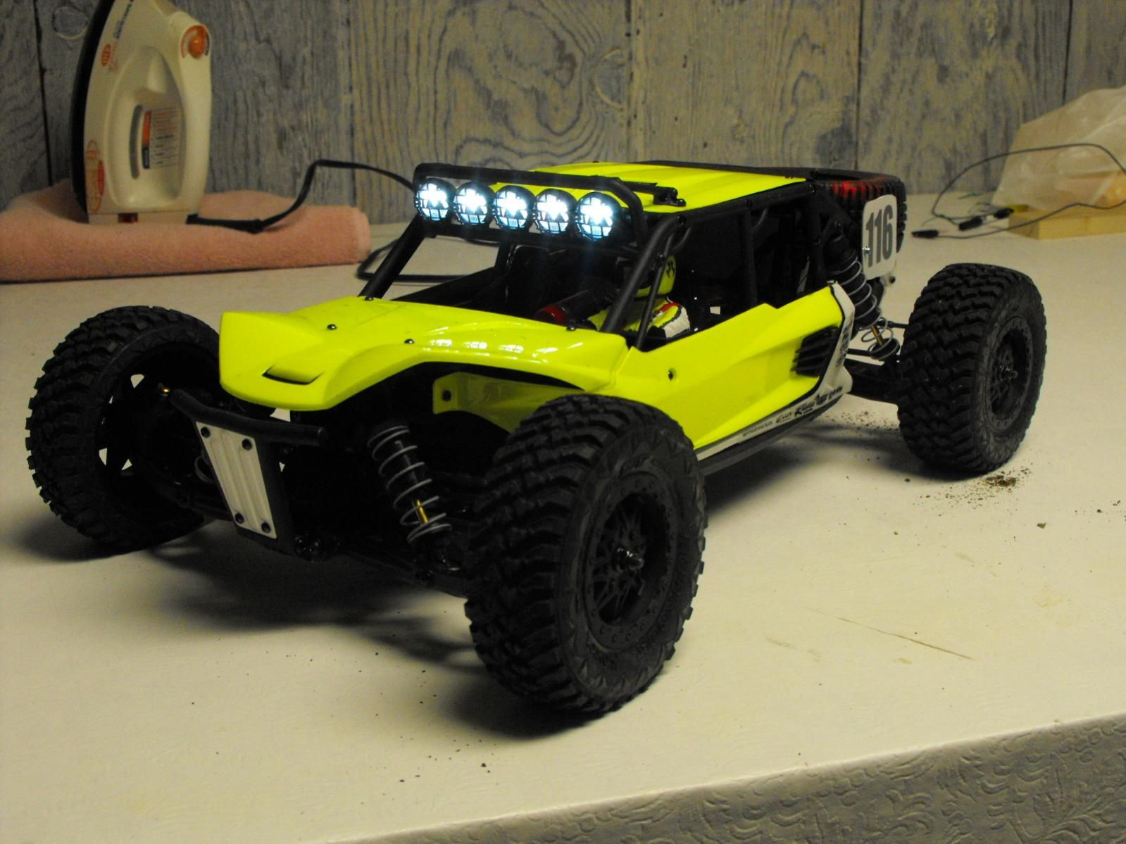 Axial Remote Control : Axial exo terra rc buggy custom ghz electric r