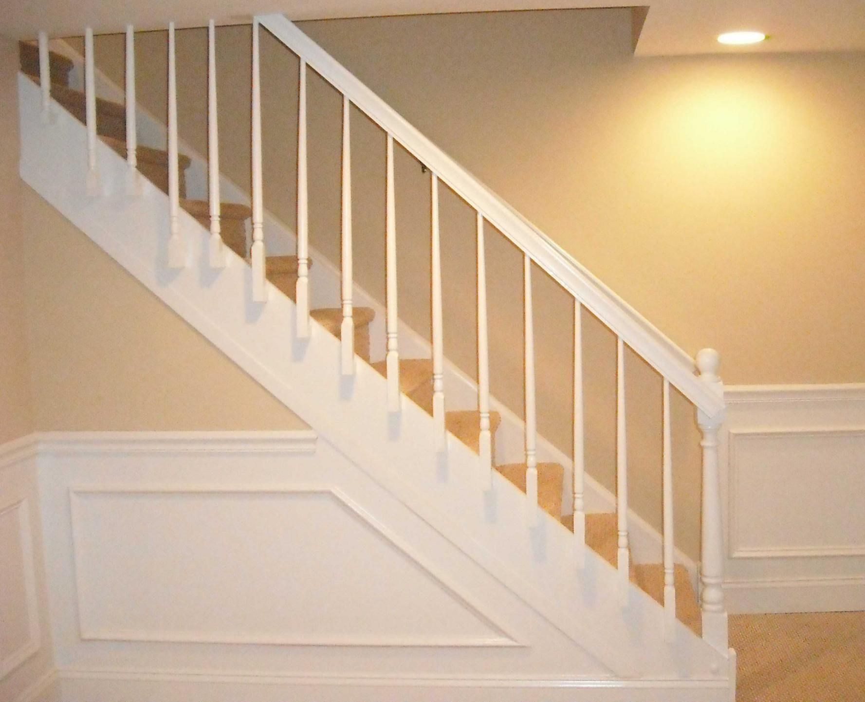 Bookcase Stair Railing Pin By Mountain Laurel Handrails On Banisters Basement