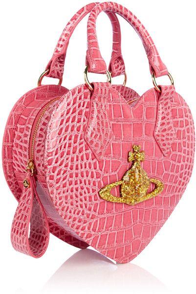 b8344069b8b3e Vivienne Westwood Rosa Chancery Heart Bag in Pink - Precious ...