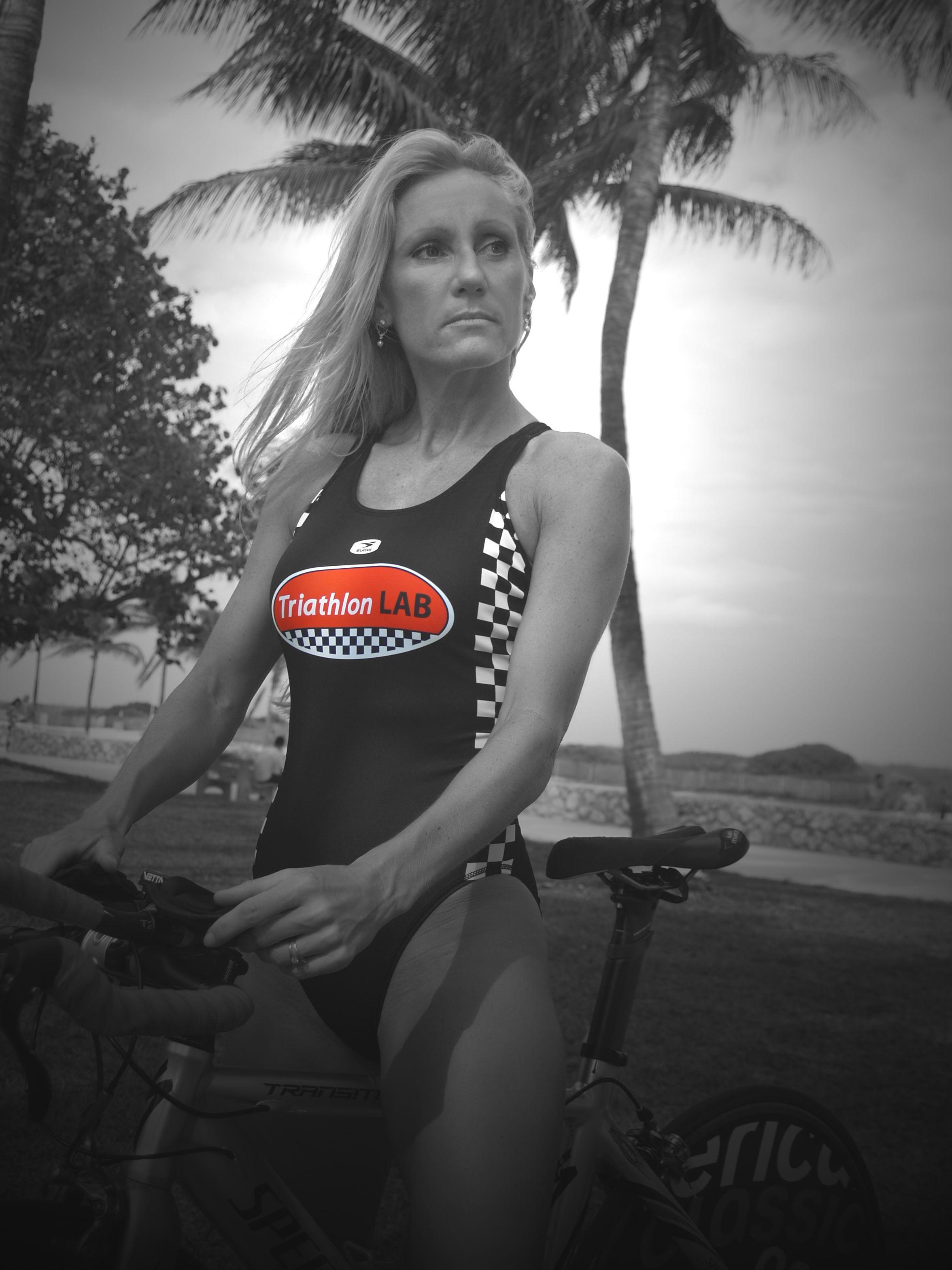 Lisa B  | Triathlon LAB - Team Athletes | Tank tops, Tops